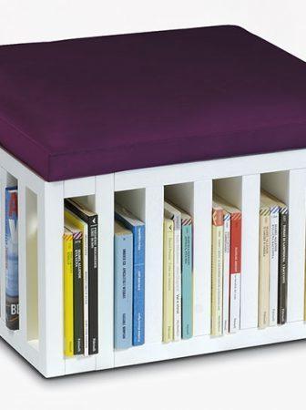 Bibliopouf, il pouf libreria