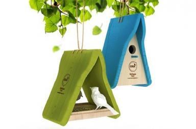 Birdhouse Project: un rifugio di design per gli uccelli migratori