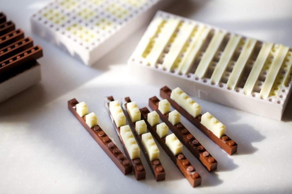 Mattoncini di cioccolato