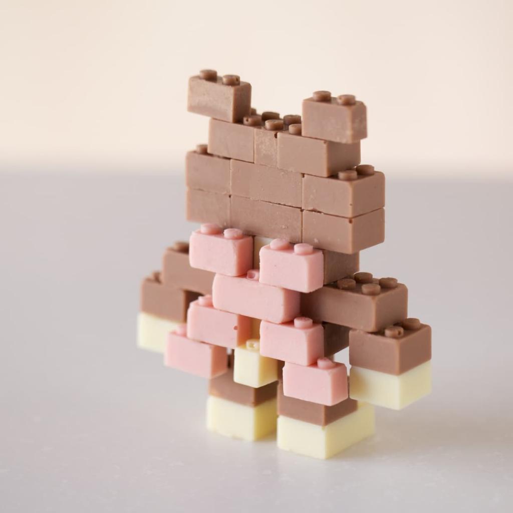 Mattoncini  Legodi cioccolato