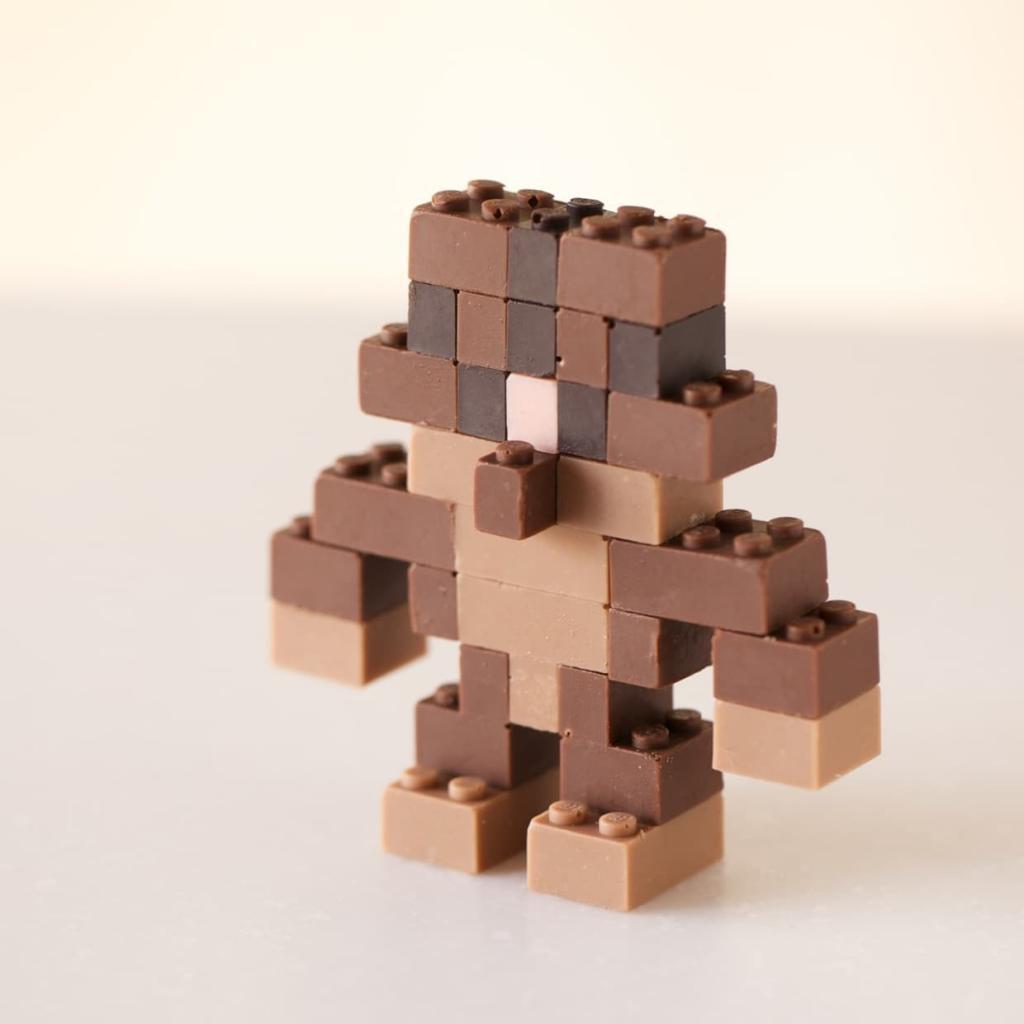 Costruzioni Lego di cioccolato