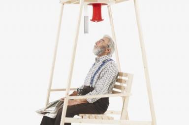 Lavorare a maglia con Rocking Knit Chair