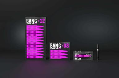 Bang Condom Packaging