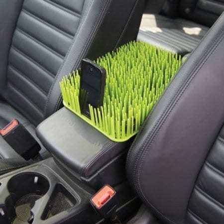 Auto Grass Center Console Dog Cover (2)