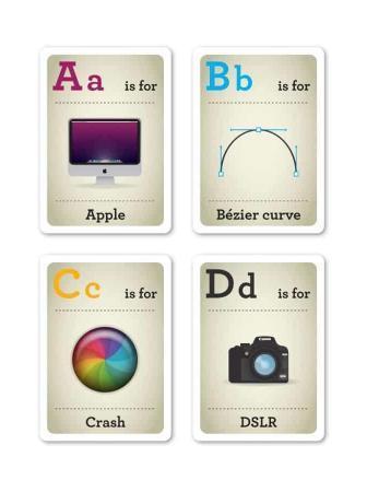 L'Alfabeto dei graphic designer di Emma Cook