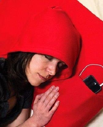 Cuscino con cappuccio 'Hoodie Pillow'