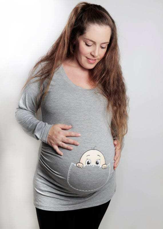 Divertenti T-shirt per la maternità