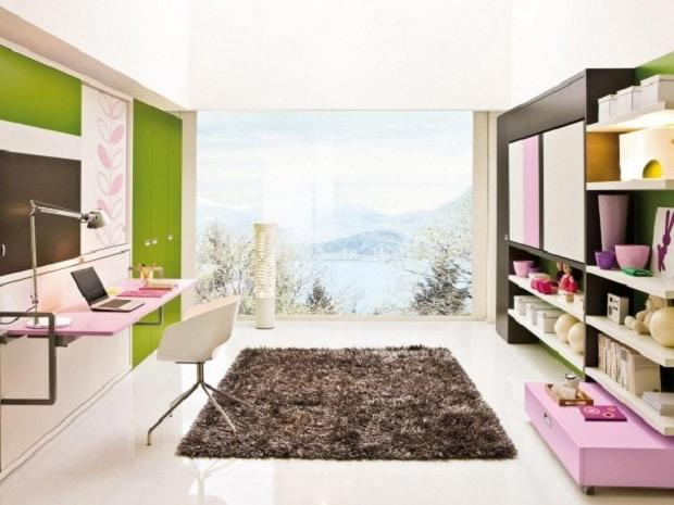 arredare le stanze con le pareti multiuso design miss. Black Bedroom Furniture Sets. Home Design Ideas