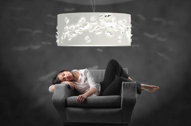 Parnassius, la lampada a sospensione e non