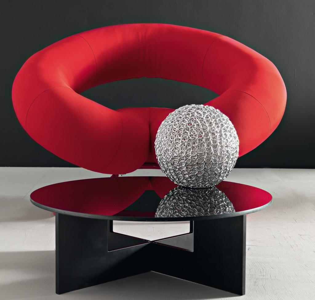 Poltrona moderna di design polis design miss - Poltrona moderna design ...