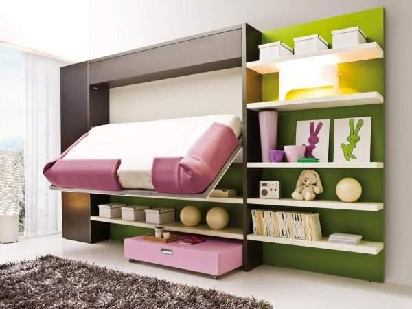 Arredare le stanze con le pareti multiuso design miss for Soluzioni salvaspazio