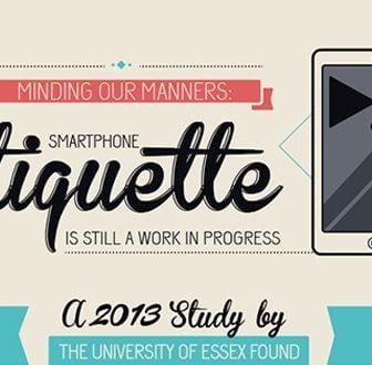 Smartphone Etiquette – Le abitudini nell'utilizzo degli smartphone