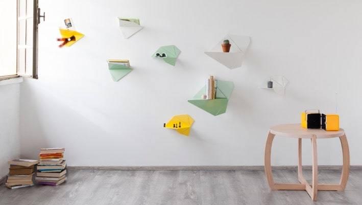 Volatevia: le mensole funzionali da parete   design miss