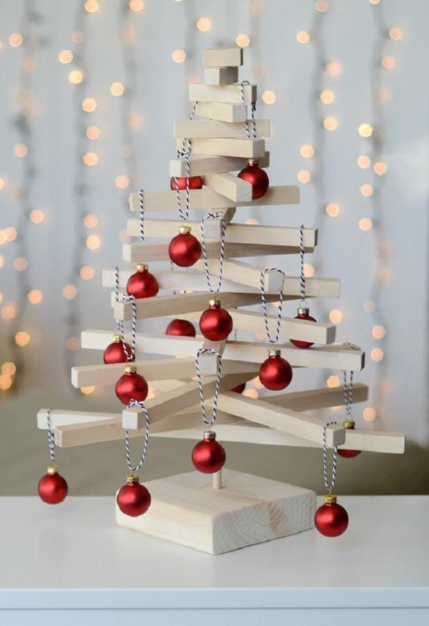 Famoso Albero di Natale in legno - Design Miss ZB16