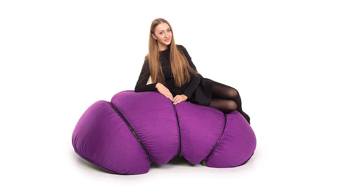 Le sedute multiple di Mandarin Pouf - Design Miss