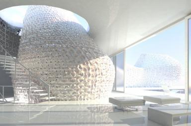 Una casa stampata in 3D