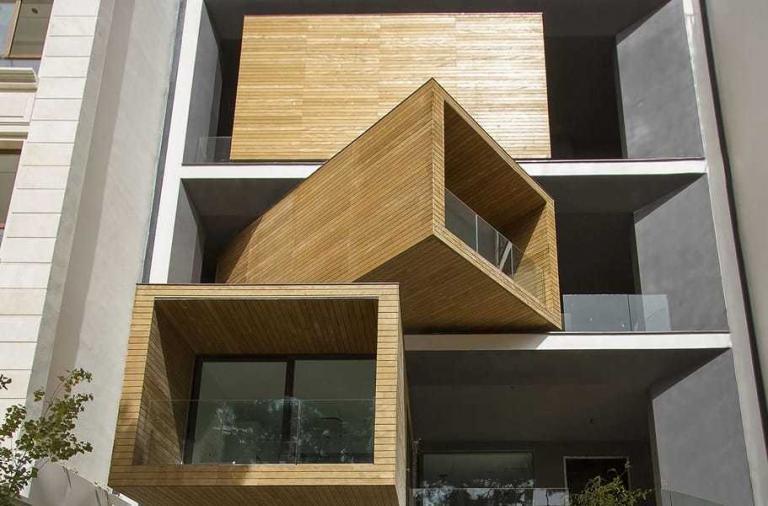 Sharifi-ha House: la casa dalle stanze rotanti