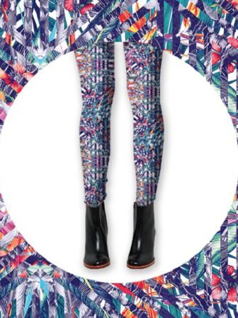 "Leggings ""Cosmic Bloom"""