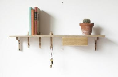 Mensola Hook Shelf by James Tattersall