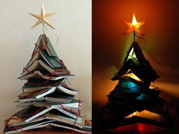 Alberi Di Natale In Legno Addobbati : Alberi di design per un natale alternativo design miss