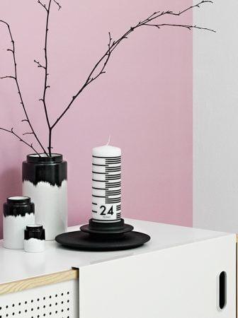 Una candela per aspettare il Natale