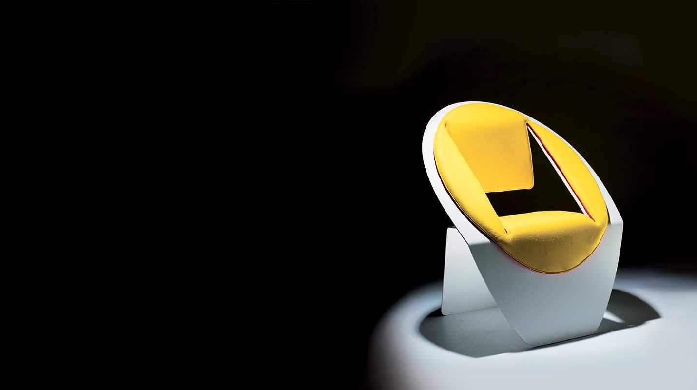sedia di alluminio lovo design miss