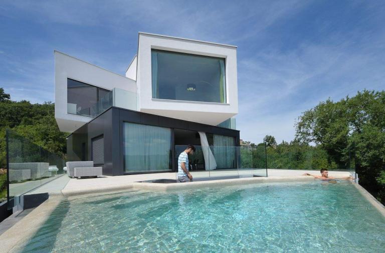 Gumno House, casa moderna in Croazia