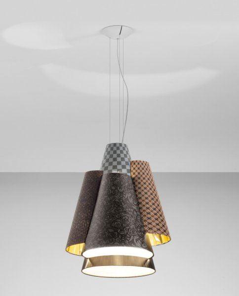 Lampada a sospensione melting pot design miss - Luci sospensione design ...