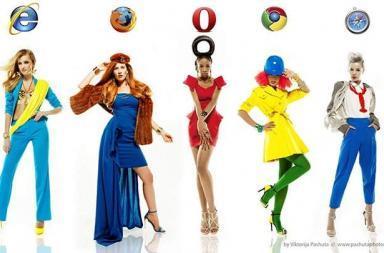 Viktorija Pashuta veste le donne da browser
