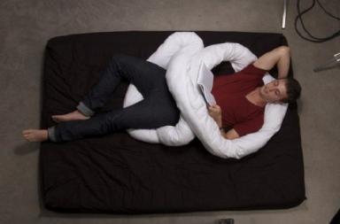Cuscino tubolare The Loop