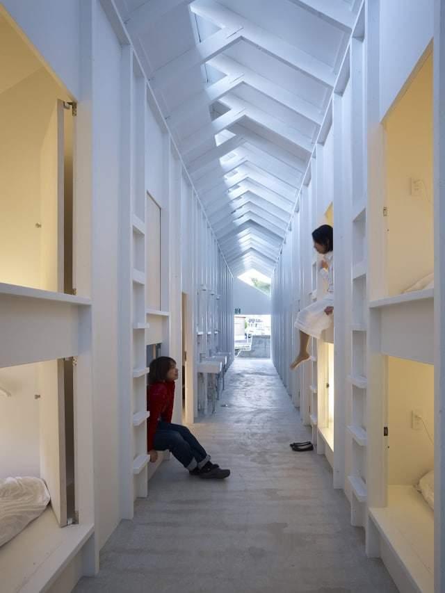 Koyasan guest house design miss for Architettura design