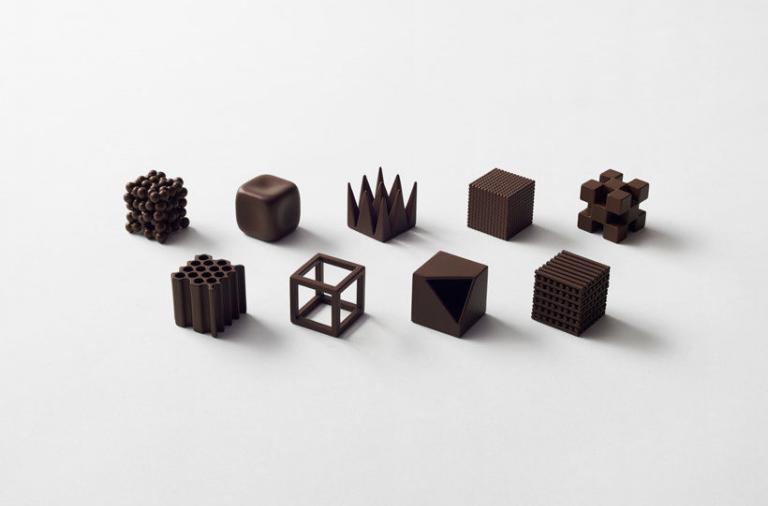 Chocolatexture, il cioccolato visto da Nendo