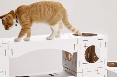 Cuccia per gatti componibile