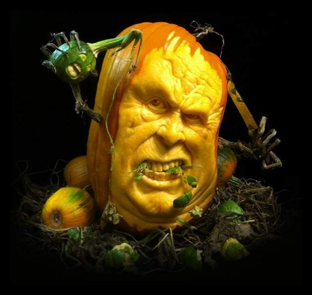 rayvillafanepumpkinsculptures_Most Expressive Pumpkin Faces Ever-09