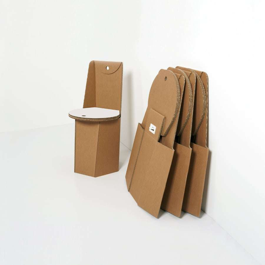 sedute-di-cartone-pieghevoli