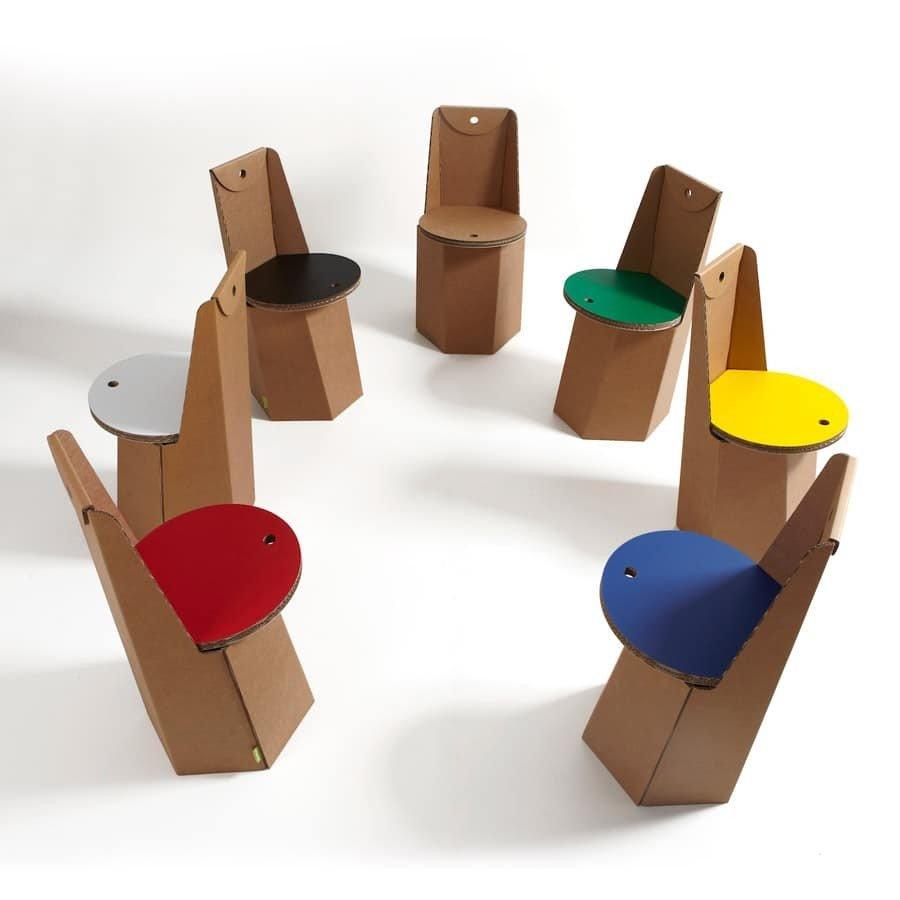 Sedie di cartone per un design sostenibile design miss for Sedie di design