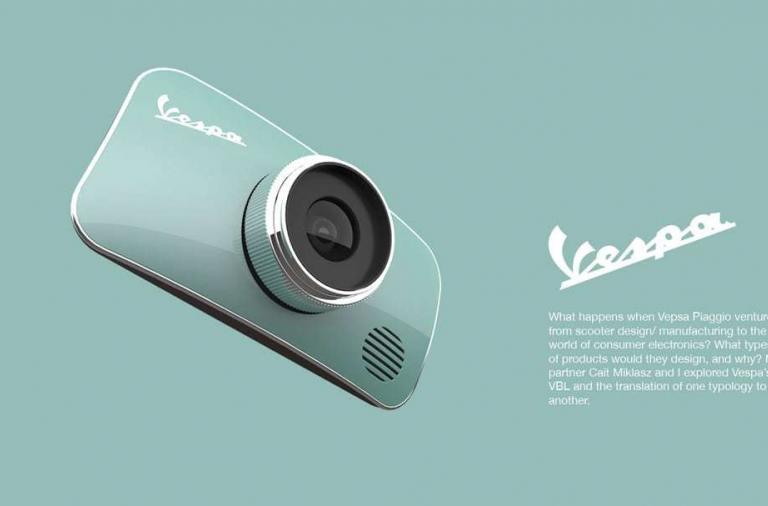 Dal design della Vespa alla Fotocamera digitale