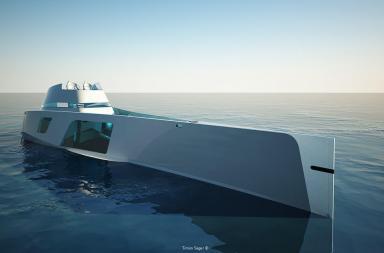 Yacht di lusso per viaggiare ad alta velocità