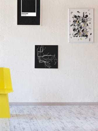 Linito la sedia in acciaio di design