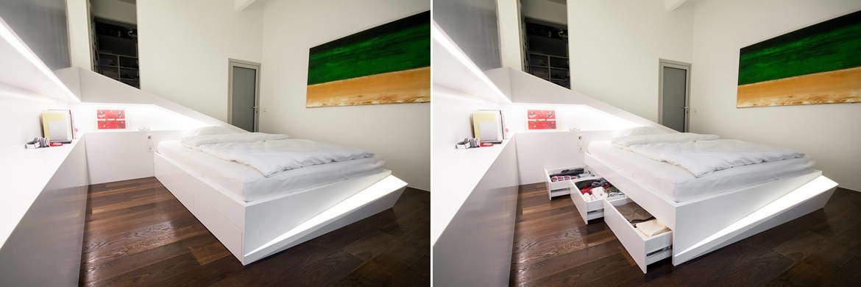 Ice bed arredare con eleganza la camera da letto design for Nicchie nelle pareti