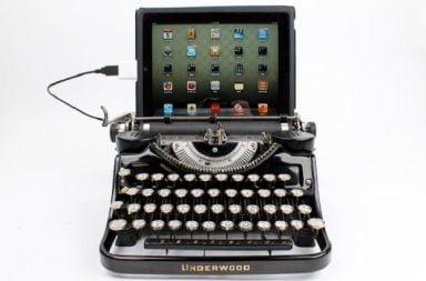 USB Typewriter, un incontro tra antico e moderno