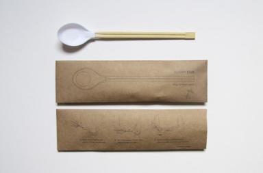 Spoon Plus: un cucchiaio con bacchette integrate