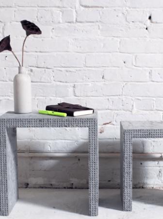 Tavolini con mattoncini Lego