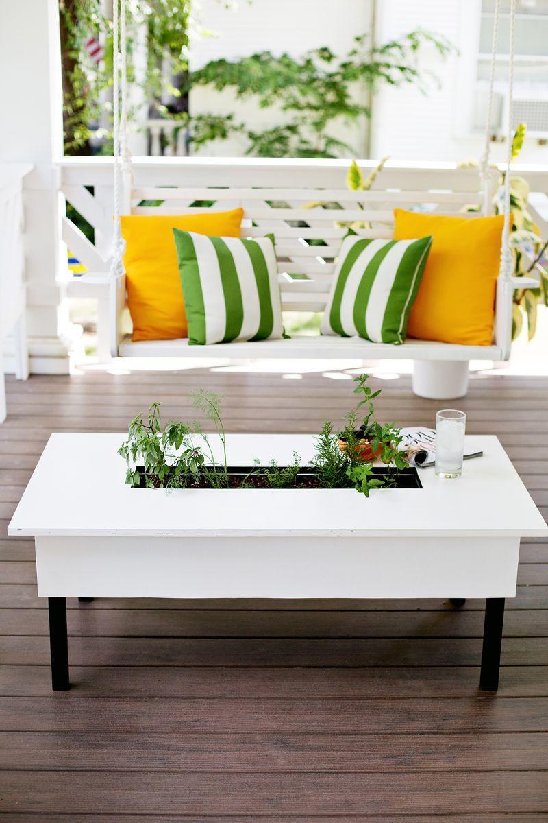 Tavolo con fioriera design miss - Tavola valdese progetti approvati 2015 ...
