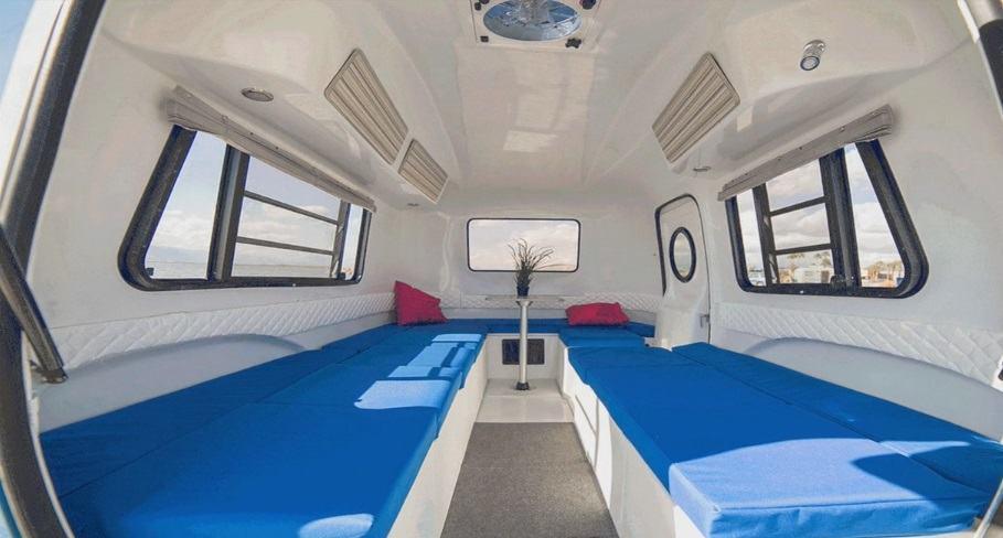 Happier camper un camper vintage per viaggiare con stile - Pronto letto camper ...