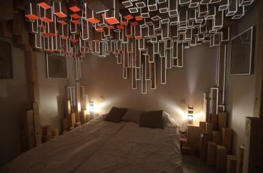 SKÖ room, dormire in un opera d'arte
