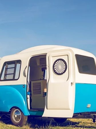 Happier Camper, un camper vintage per viaggiare con stile