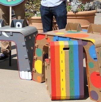 Kids Imagination Furniture, riciclo e creatività