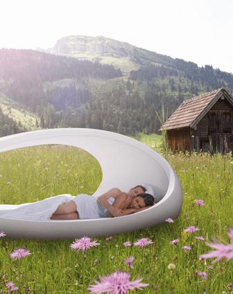 Un letto multisensoriale