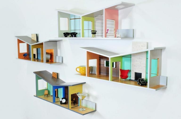 Mensole dall'architettura postmoderna